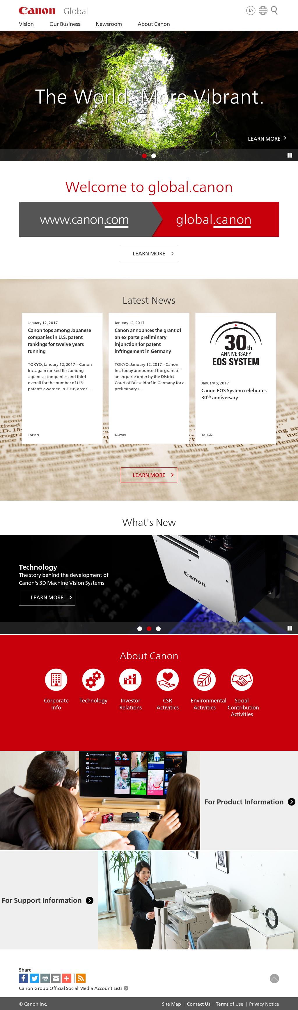 Canon Competitors, Revenue and Employees - Owler Company Profile