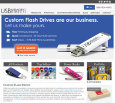 USB Memory Direct website history