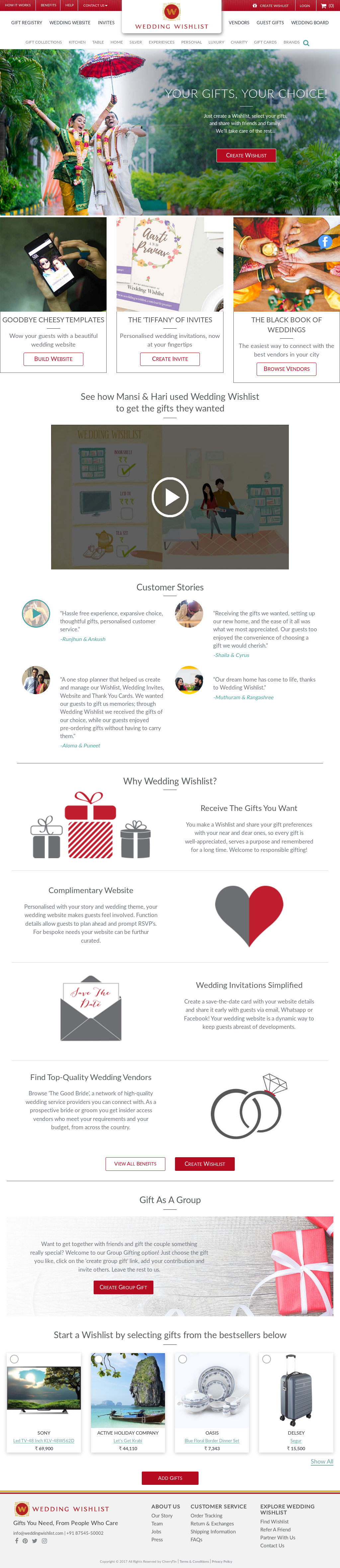 Wedding Wishlist Competitors, Revenue and Employees - Owler Company ...