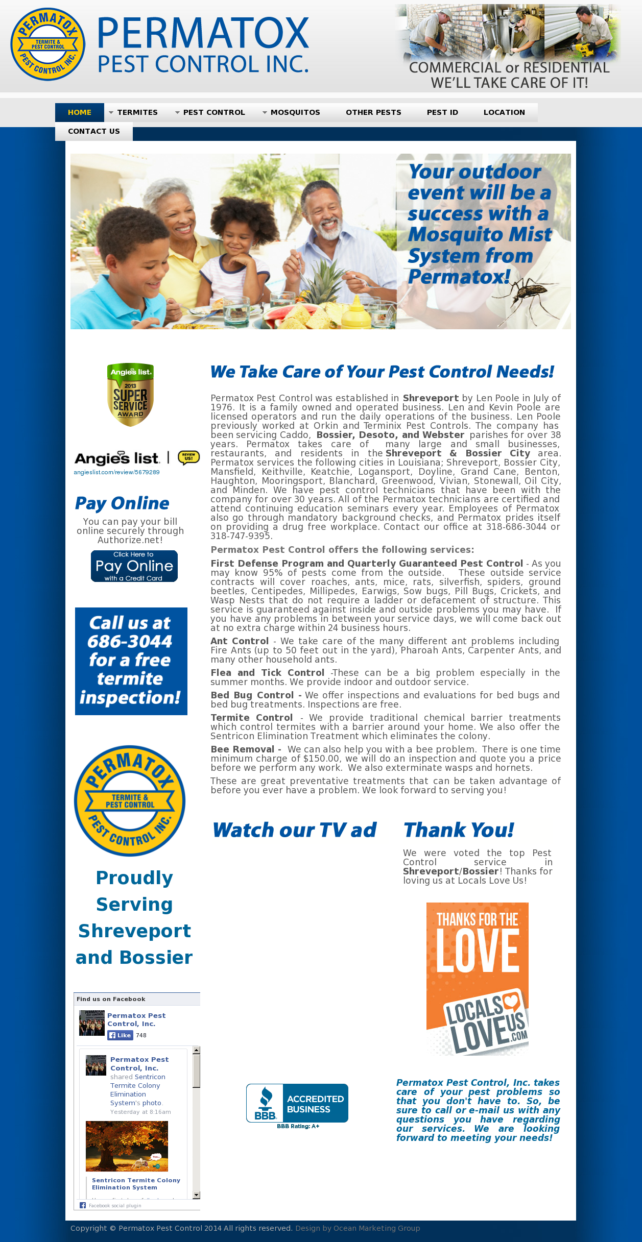 Permatox Pest Control Competitors, Revenue and Employees