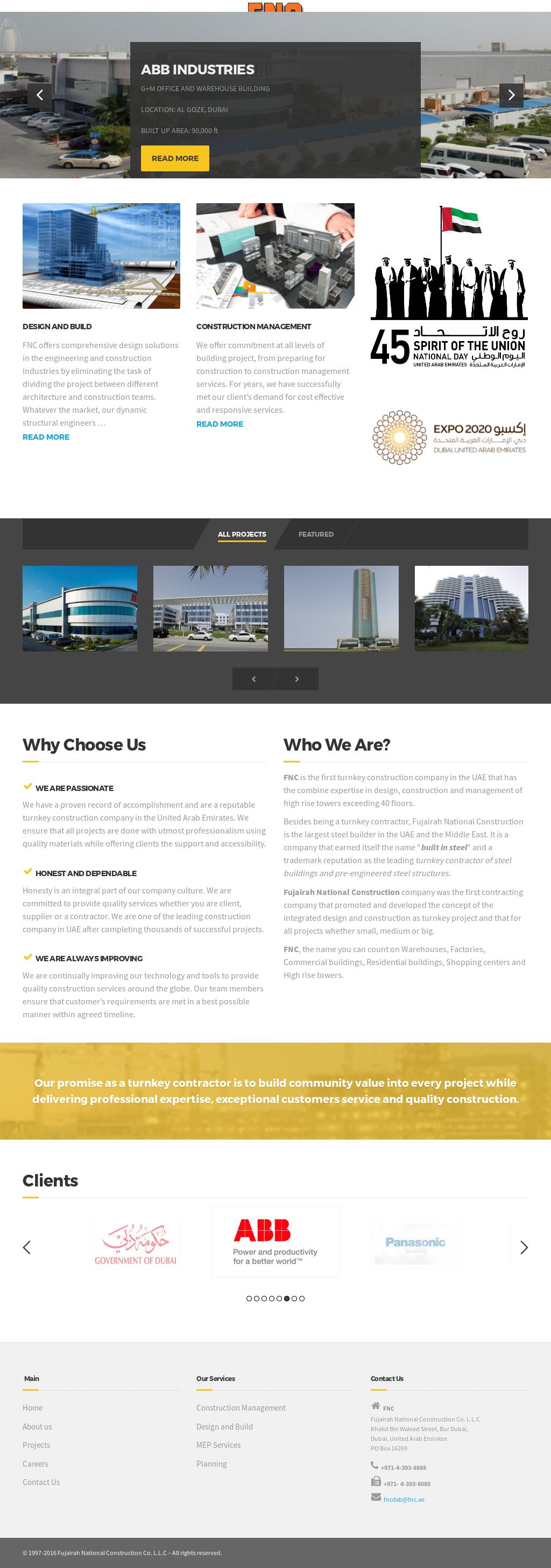 Fujairah National Construction Competitors, Revenue and