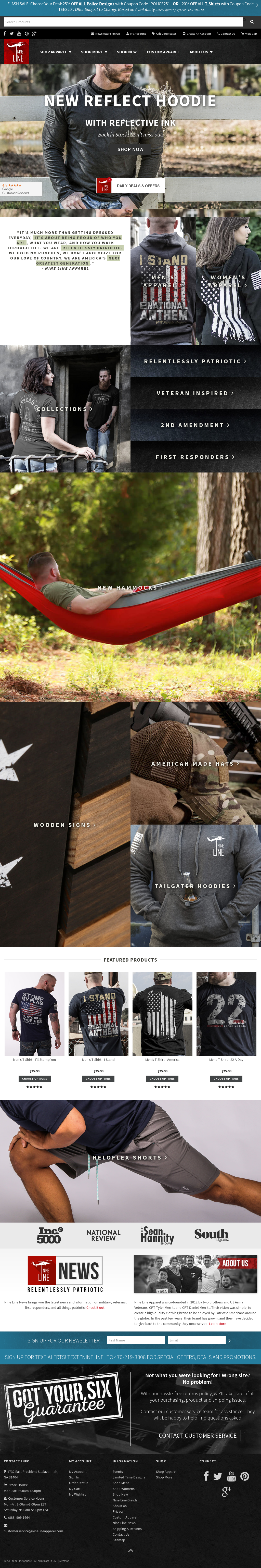 Nine Line Apparel Competitors, Revenue and Employees - Owler Company