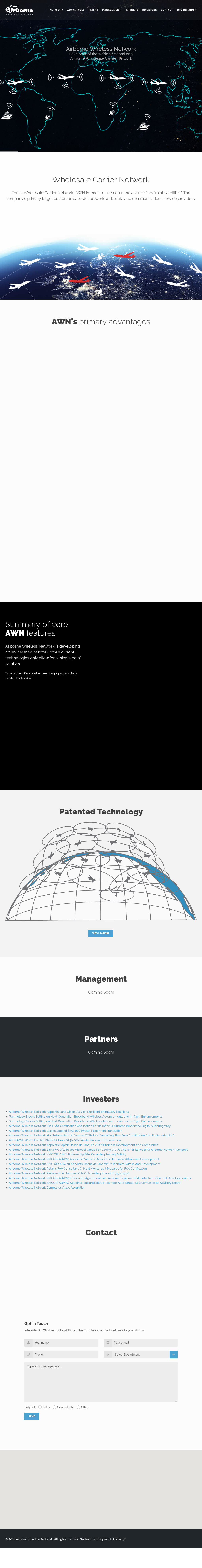 Airborne Wireless Network Competitors Revenue And Employees Owler Architecture Diagram Company Profile