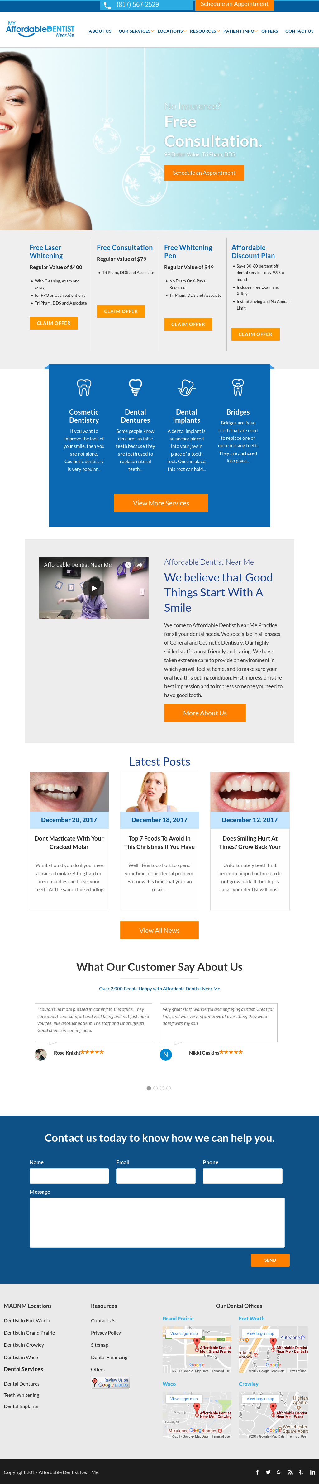 Affordable Dentist Near Me Competitors, Revenue and