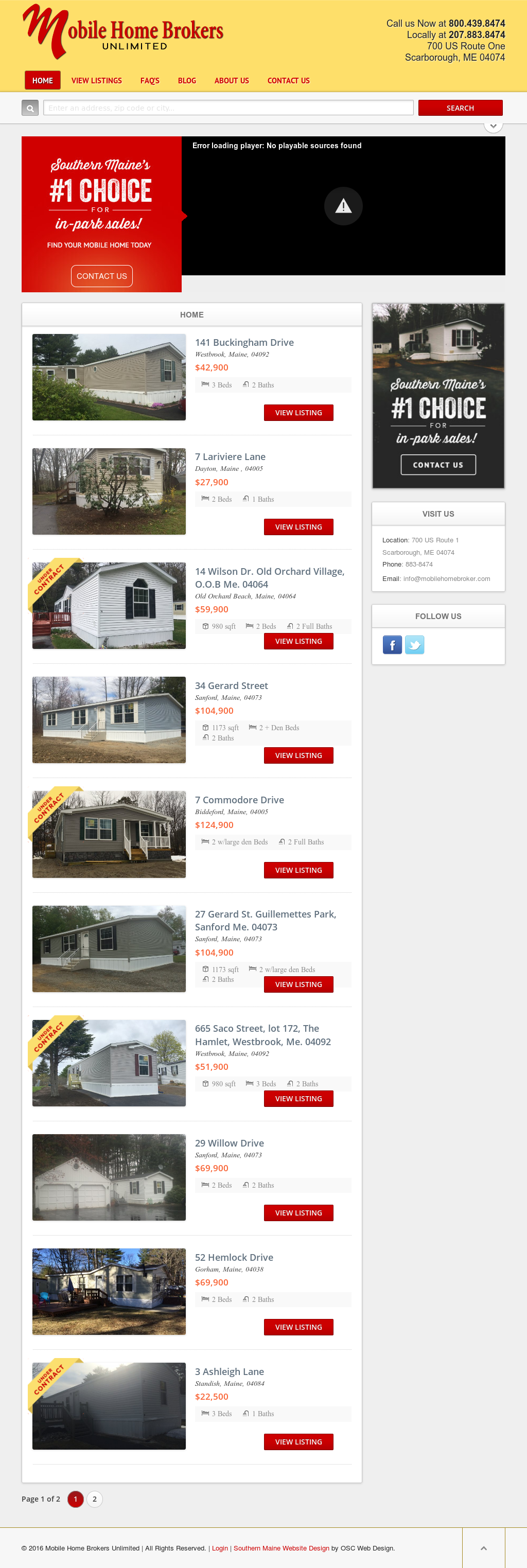 Magnificent Mobilehomebroker Competitors Revenue And Employees Owler Download Free Architecture Designs Scobabritishbridgeorg