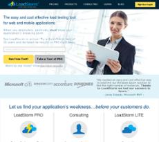 LoadStorm website history