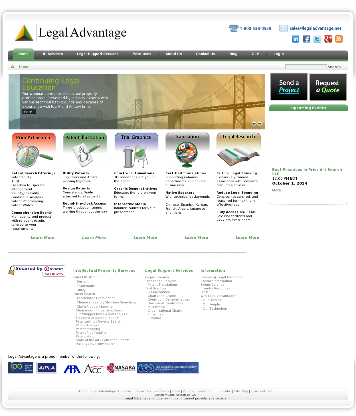 Legal Advantage Competitors, Revenue and Employees - Owler Company