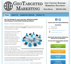 GeoTargeted Marketing website history