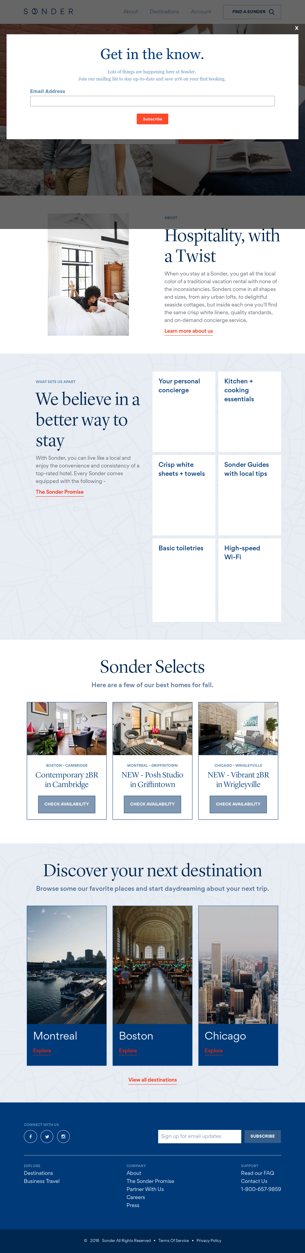 Sonder Competitors, Revenue and Employees - Owler Company