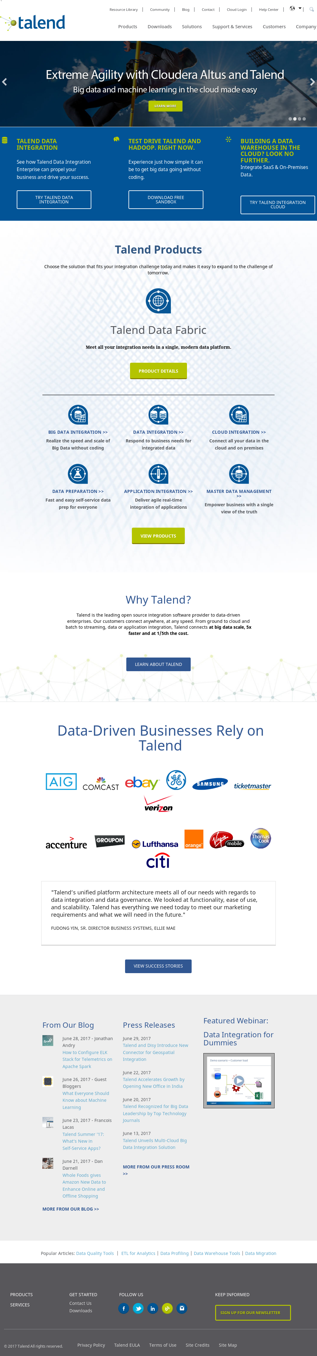 Talend Competitors, Revenue and Employees - Owler Company