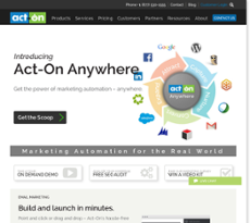 Act-On website history