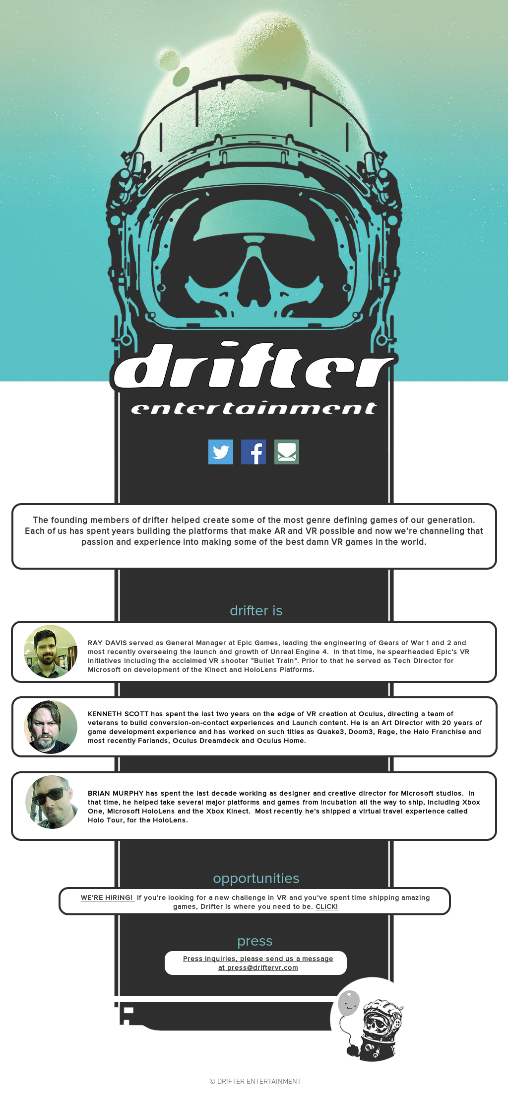 Drifter Entertainment Competitors, Revenue and Employees