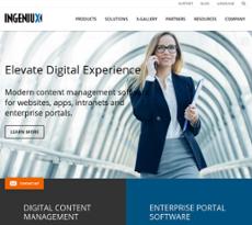 Ingeniux website history