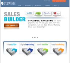 Strategic Marketing website history