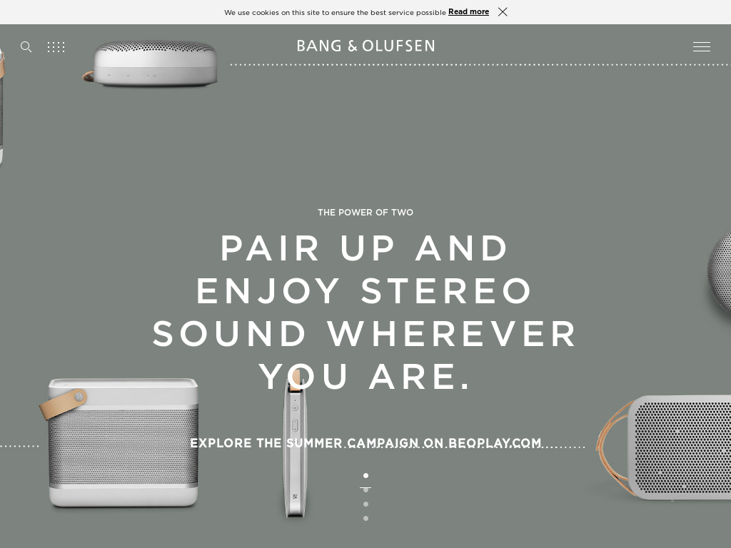 Lyft for bang olufsen
