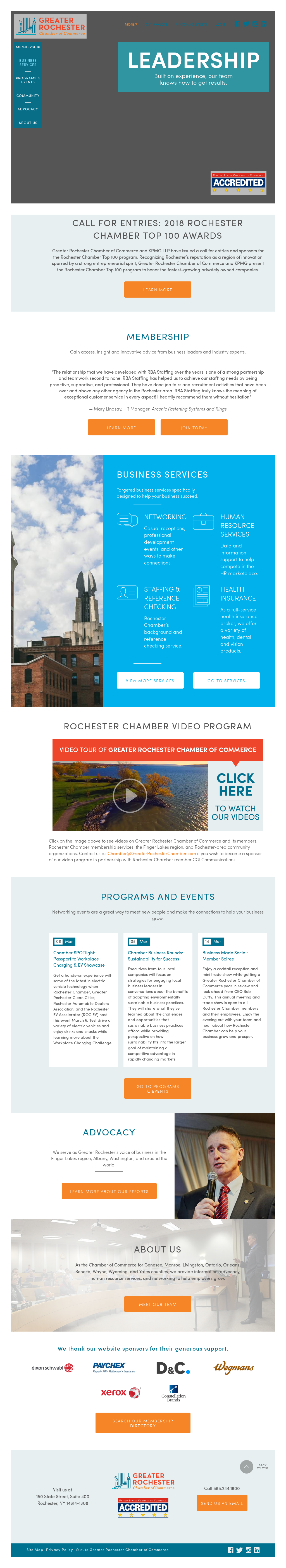 Greater Rochester Chamber of Commerce Competitors, Revenue and