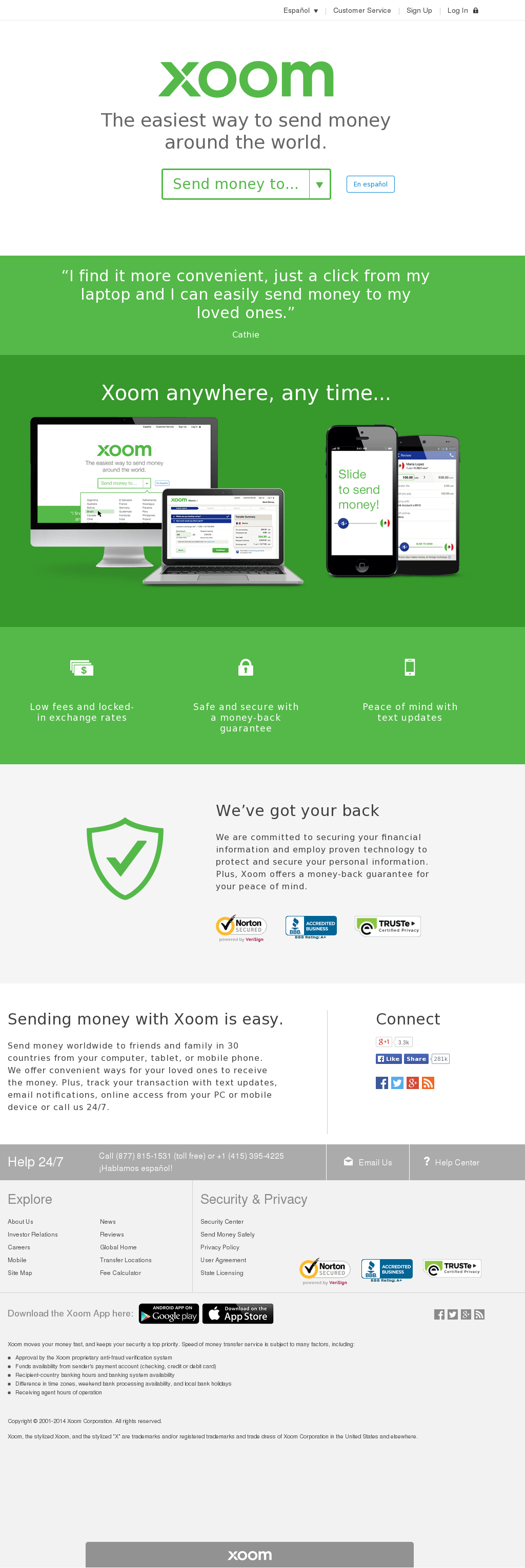 Xoom Competitors, Revenue and Employees - Owler Company Profile