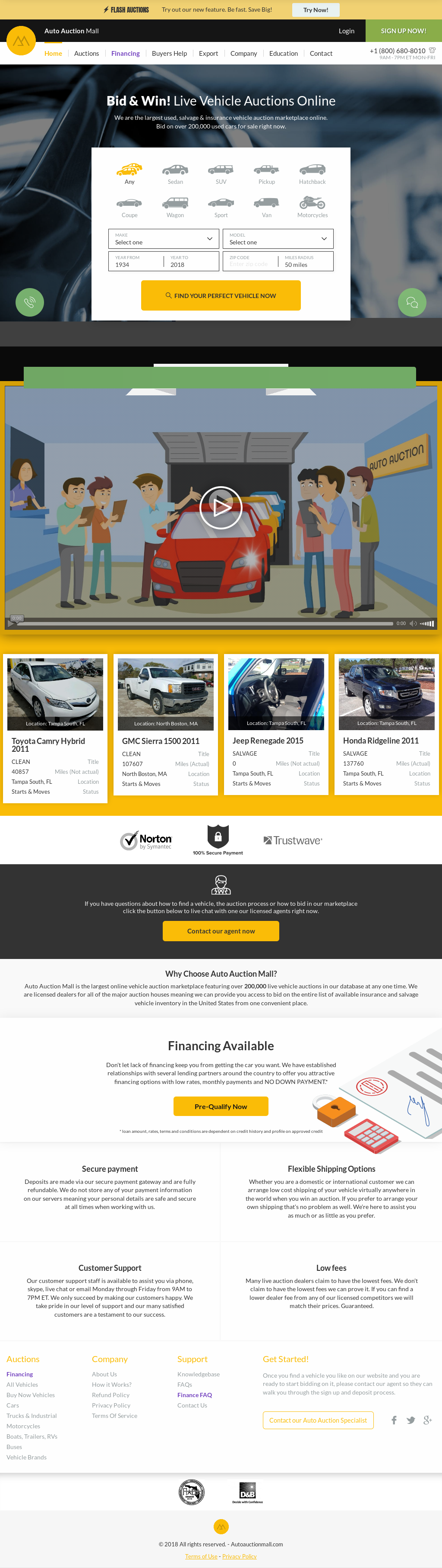 Online Car Auction >> Auto Auction Mall Competitors Revenue And Employees Owler