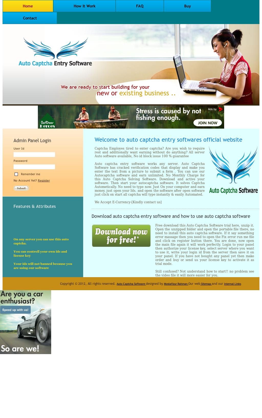 Auto Captcha Entry Software Competitors, Revenue and