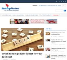StartupNation website history
