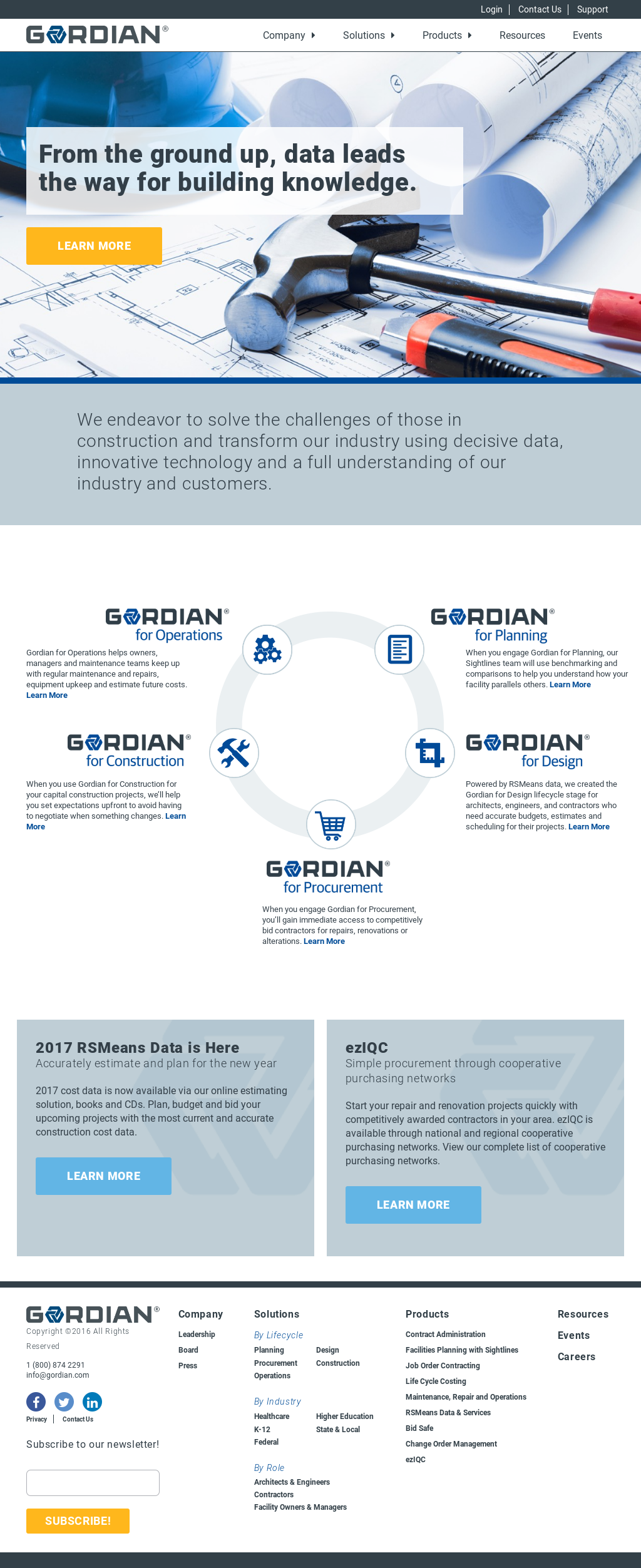Gordian Competitors, Revenue and Employees - Owler Company Profile