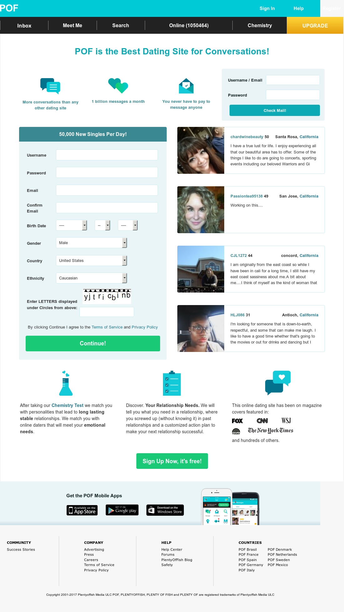plentyoffish com 100 free online dating url