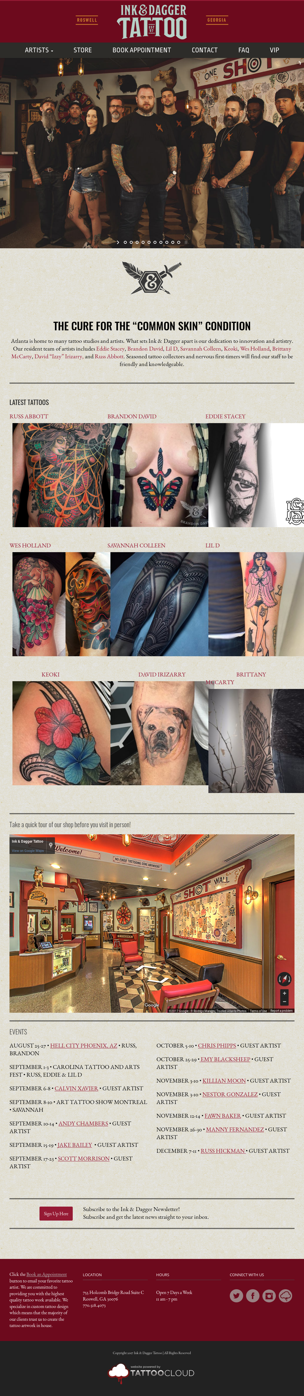 a8e7d8539 Ink & Dagger Tattoo Studio Competitors, Revenue and Employees - Owler  Company Profile