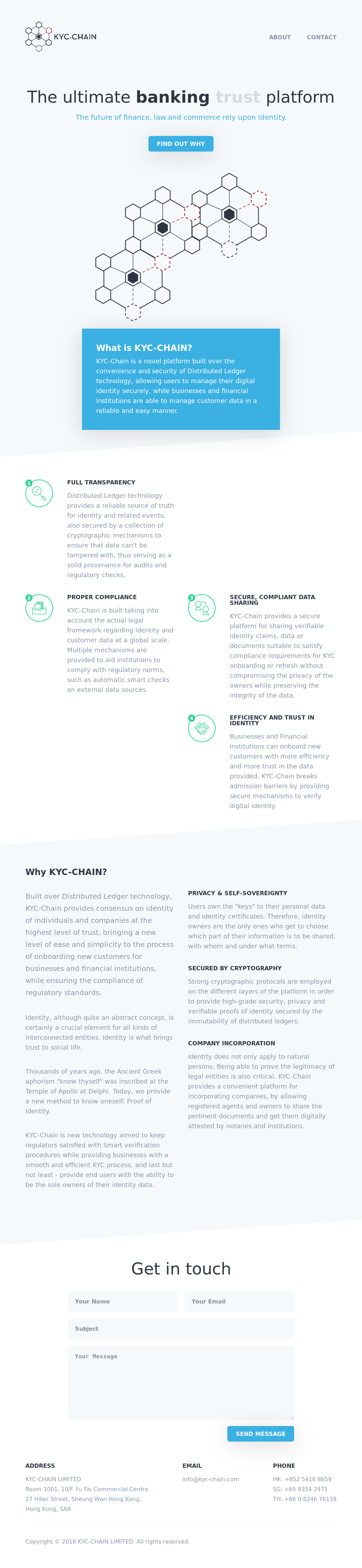 KYC-Chain Competitors, Revenue and Employees - Owler Company Profile
