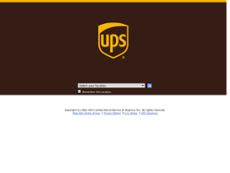 United Parcel Service website history