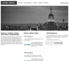 Steel Media website history