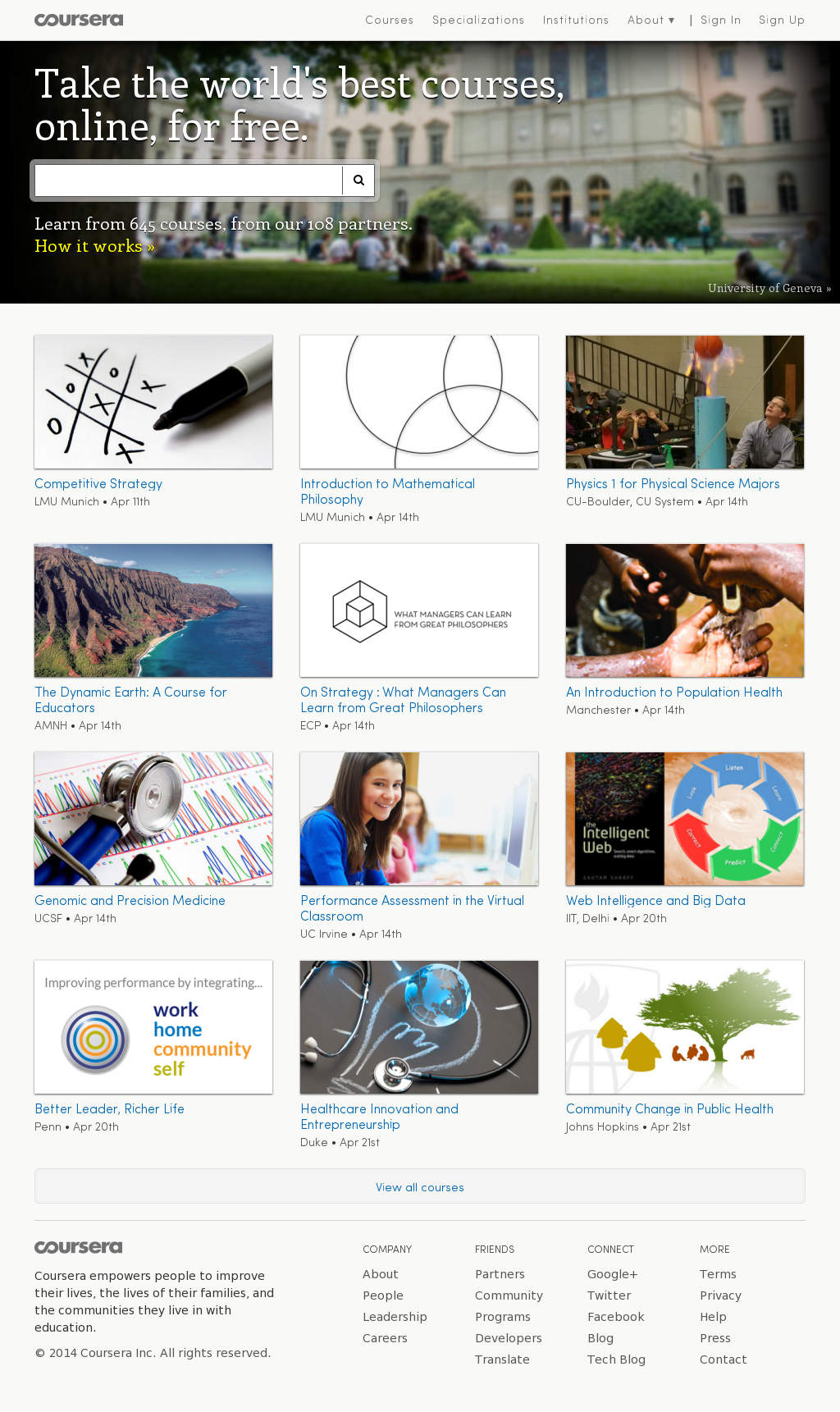Coursera Competitors, Revenue and Employees - Owler Company