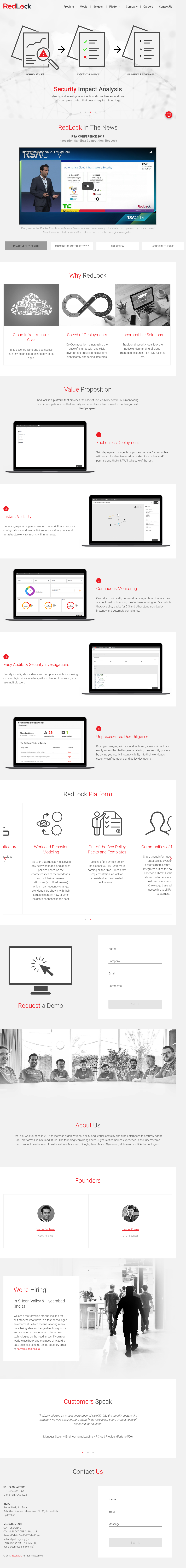 RedLock Competitors, Revenue and Employees - Owler Company Profile