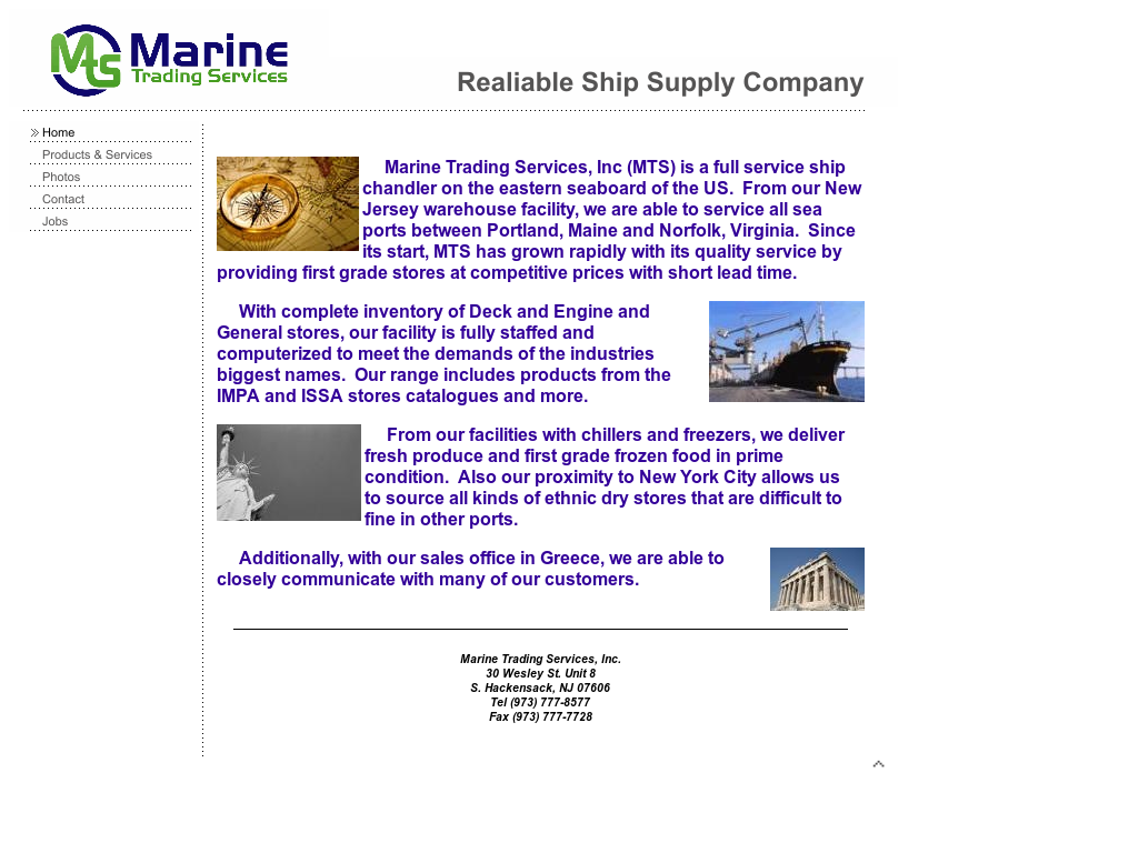 Marine Trading Services Competitors, Revenue and Employees