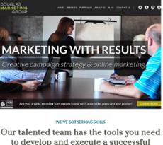 Douglas Marketing Group website history