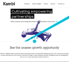 Kambi Competitors, Revenue and Employees - Owler Company Profile
