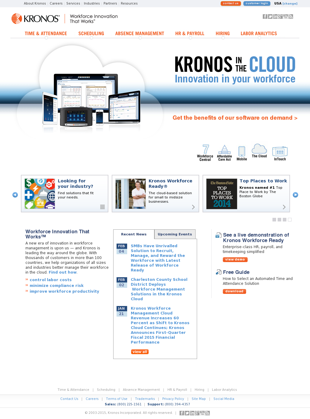Kronos Competitors, Revenue and Employees - Owler Company Profile