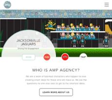 AMP Agency website history