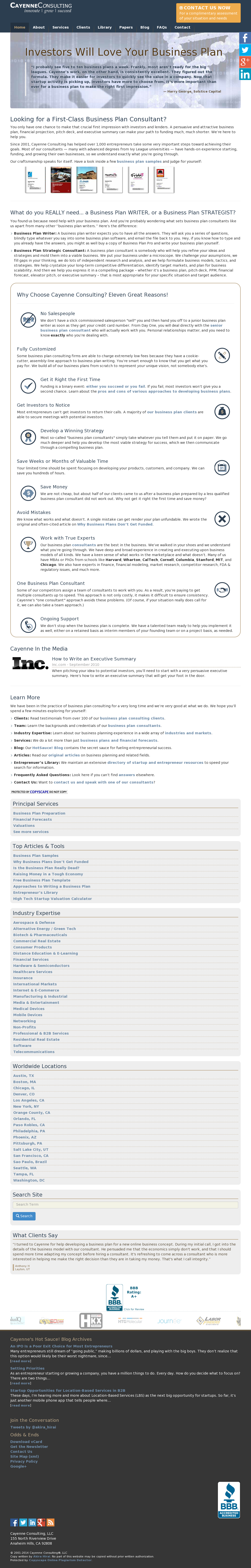 Cayenne Consulting Competitors, Revenue and Employees