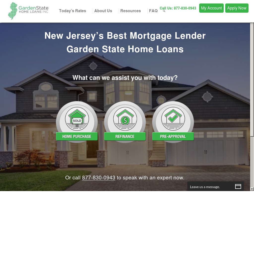 Delightful Garden State Home Loans Website History