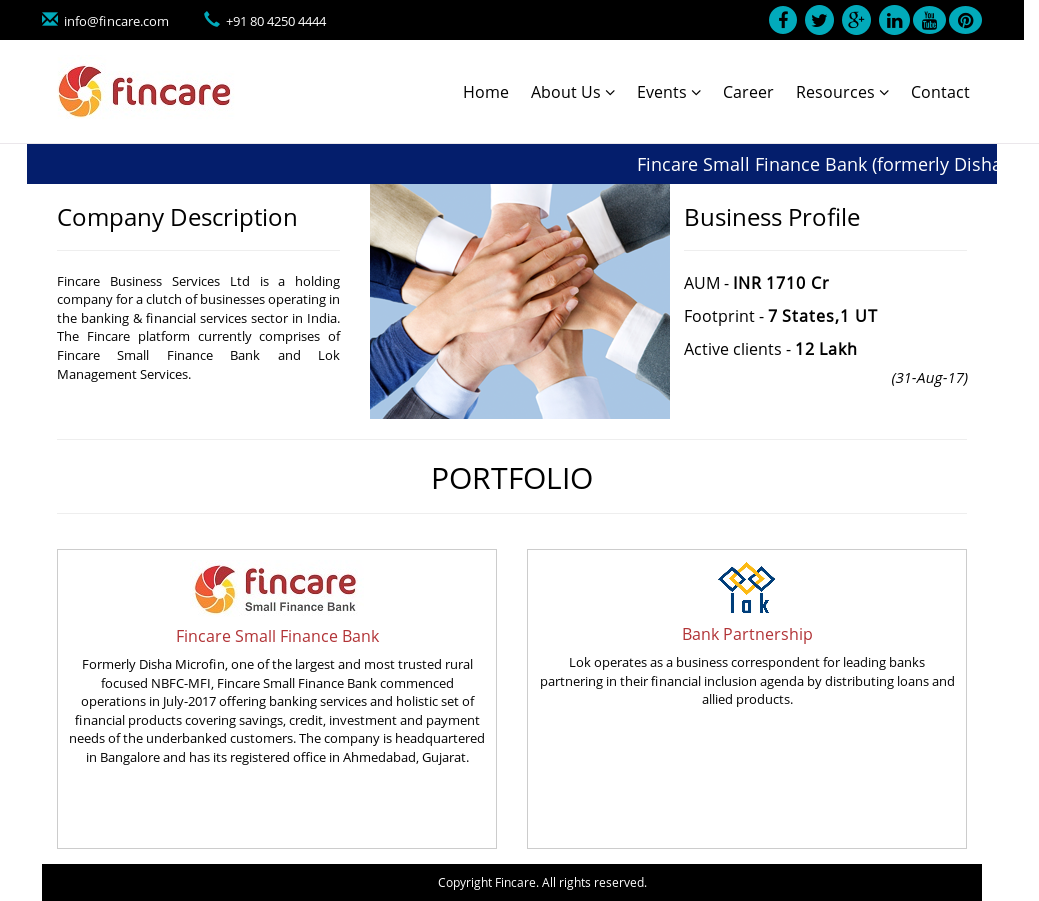 Fincare Competitors, Revenue and Employees - Owler Company