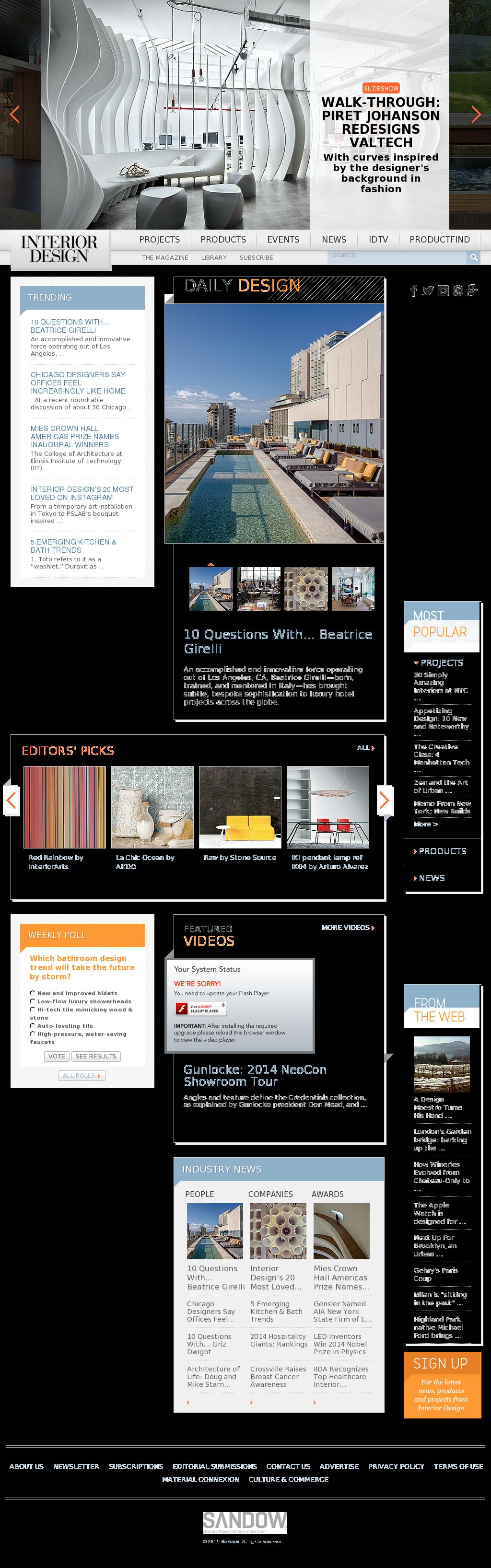 Interiordesign Competitors Revenue And Employees