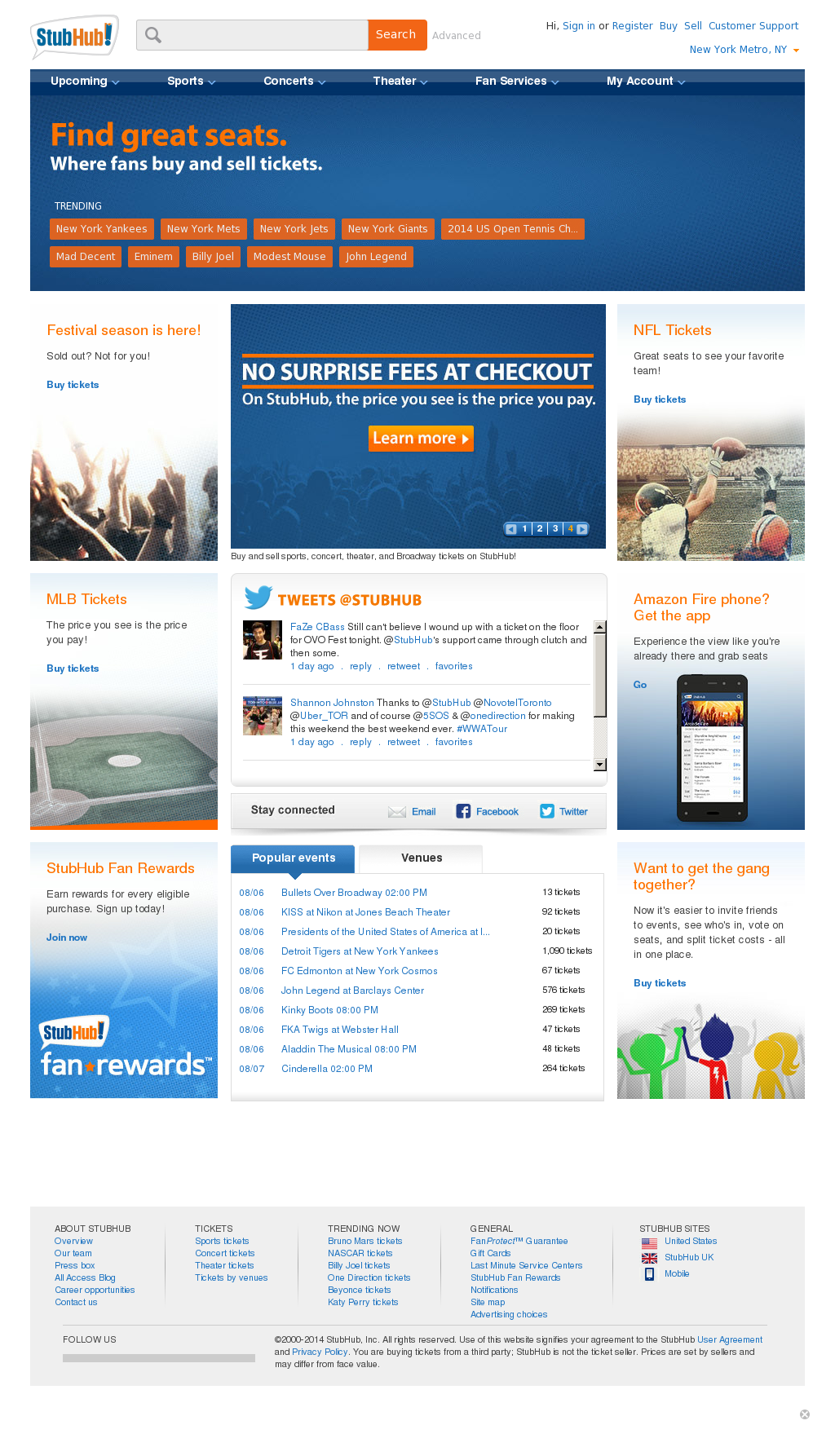 StubHub Competitors, Revenue and Employees - Owler Company Profile