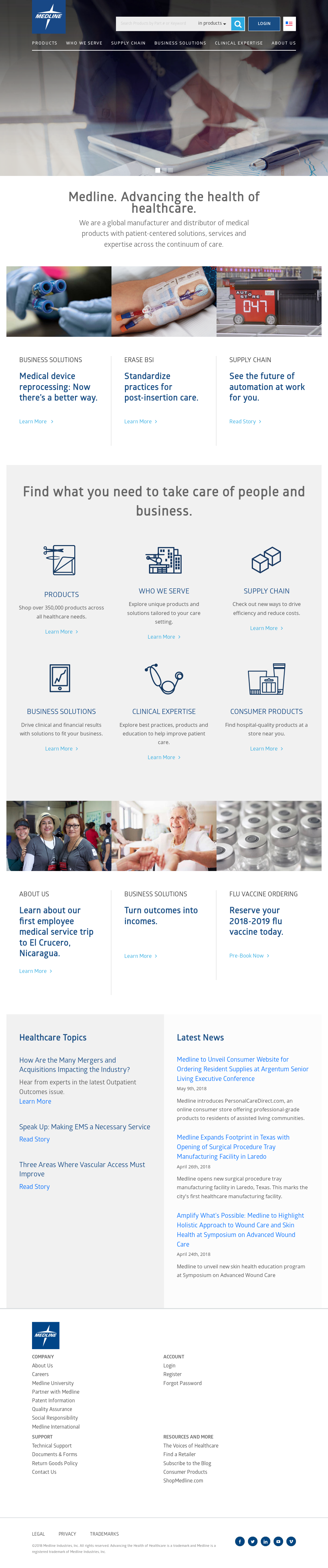 Medline Competitors, Revenue and Employees - Owler Company Profile