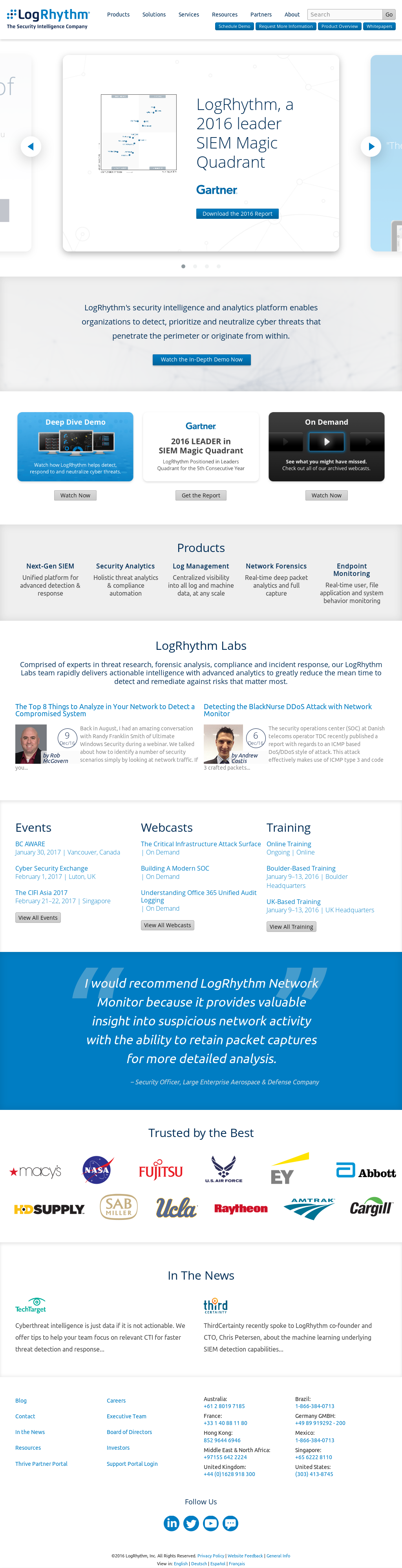 LogRhythm Competitors, Revenue and Employees - Owler Company