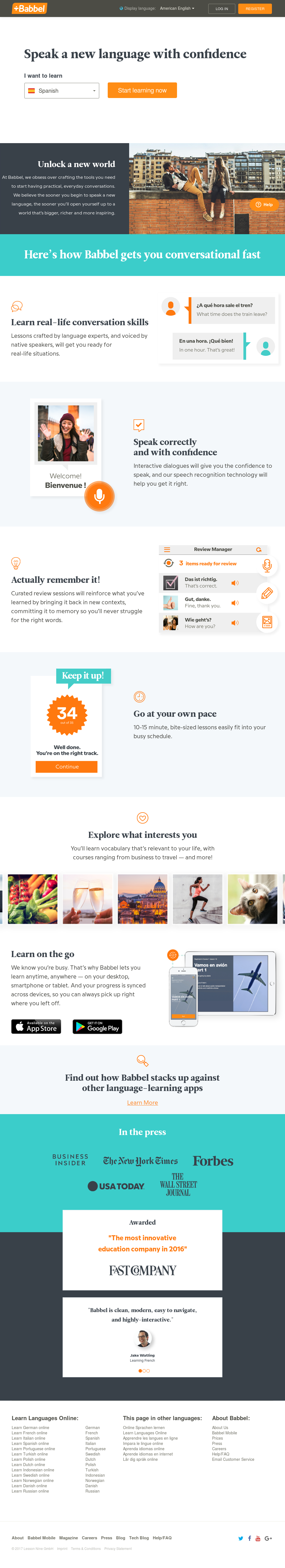 Babbel Competitors, Revenue and Employees - Owler Company
