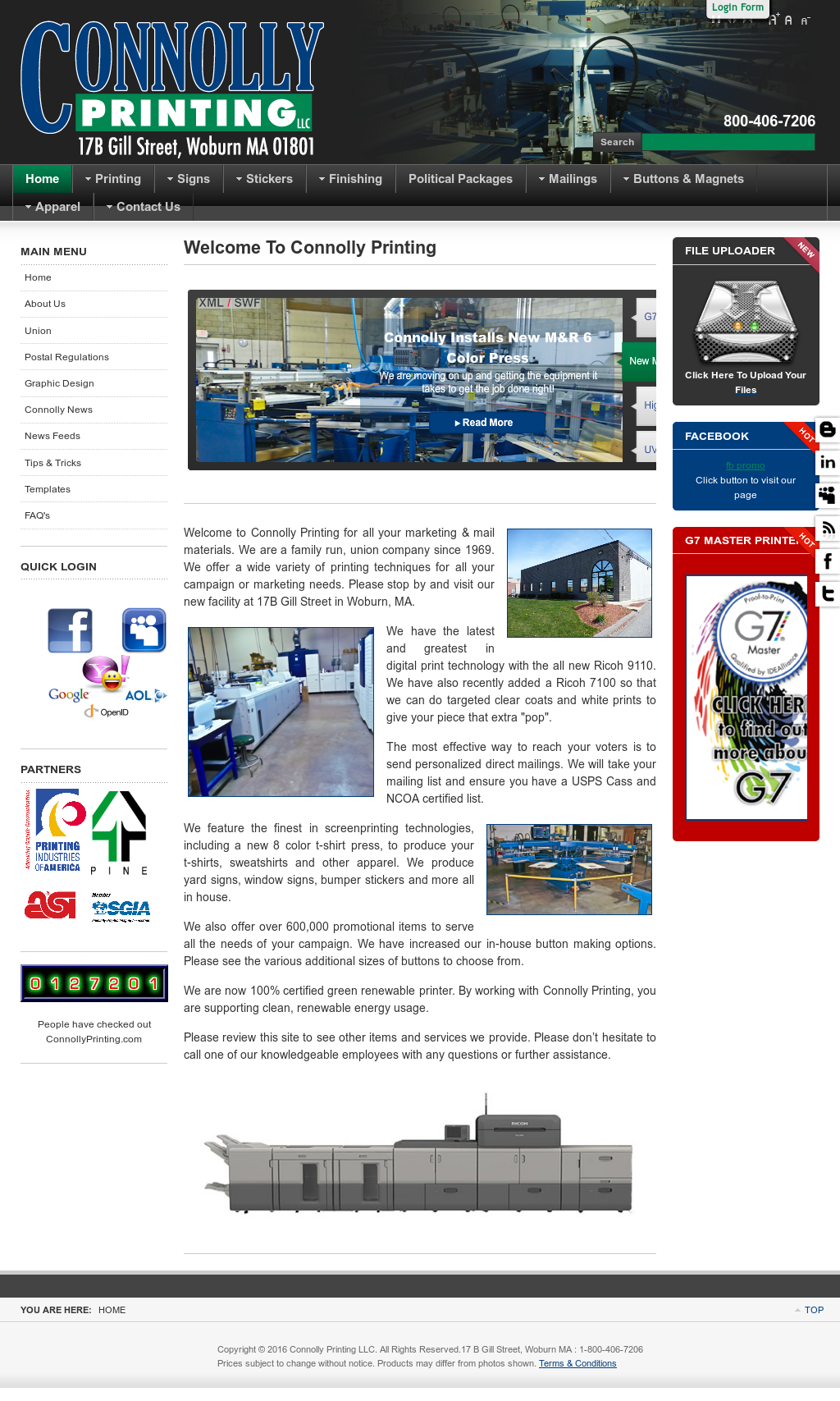 Connollyprinting Competitors, Revenue and Employees - Owler