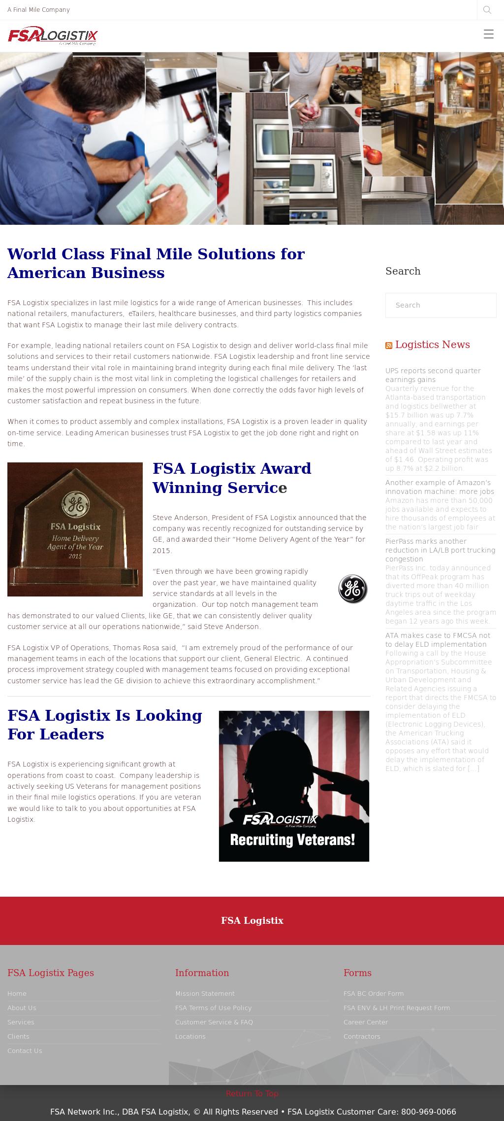 FSA Logistix Competitors, Revenue and Employees - Owler