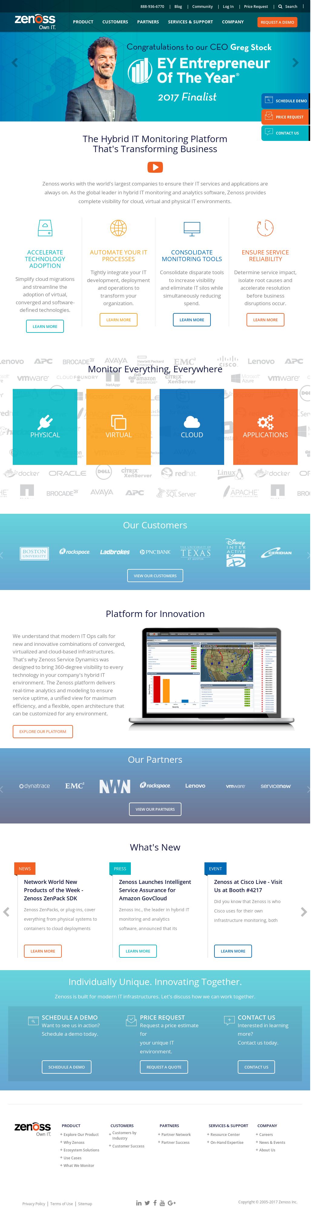 Zenoss Competitors, Revenue and Employees - Owler Company Profile