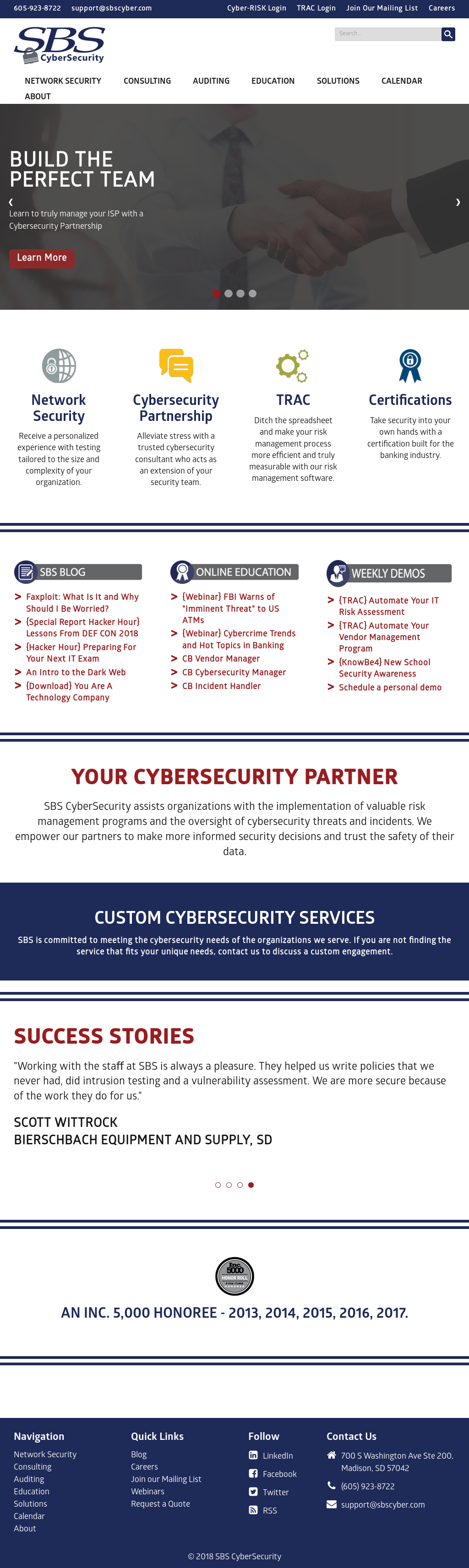 SBS CyberSecurity Competitors, Revenue and Employees - Owler