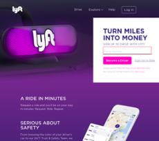 Lyft website history